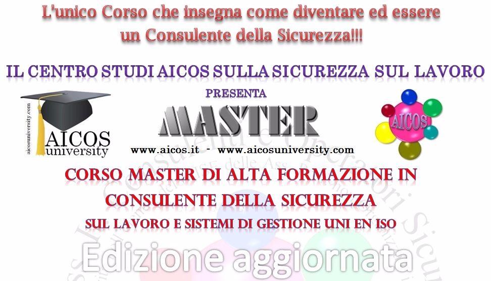 Corso Master